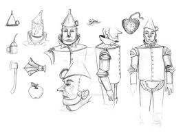 Tin Man Concept by piratesofbrooklyn