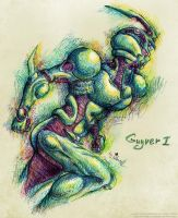 Guyver-1 by Lucithea