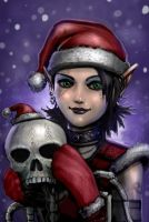 Xmas Elf by SirTiefling