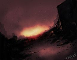 Post-Apocalyptic Mood Speedpaint by rogueXunited