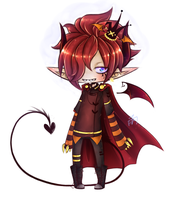 demon prince by Moustachio-adopts