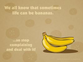 Life can be bananas... by MapleRose
