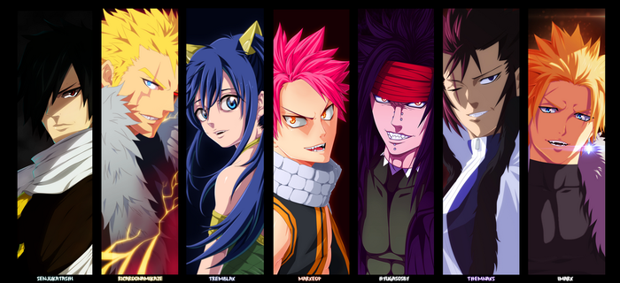 [Collab] Dragon Slayer - Fairy Tail by MarxeDP