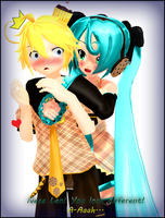A-Ah! S-She's hugging me...! by Lunassis