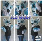 Ice Wolf- Partial by TheGreenCoyote