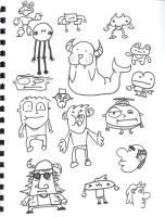 More more doodles by JoePhatty