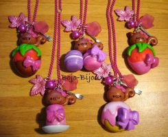 Squirrels on Sweets by Bojo-Bijoux