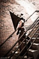 Pyramid Head Con Shoot 4 by kyphoscoliosis