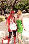Tinckerbell and Little Red Riding Hood Zombie by GaaraBakemono