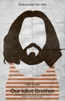 Our Idiot Brother poster - MSCE Day 170 by billpyle