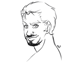Tony Stark by DrSnipersMagic