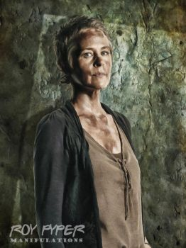 TWD: Carol Peletier: Oil Paint Edit by nerdboy69