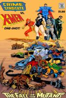 The X-Men vs. the Crime Syndicate! by Gwhitmore