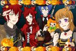 SONALLY AND FOXICA HALLOWEEN COUPLE by shadamyfrozenlover15