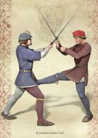 Medieval Swordfighting by Undermound