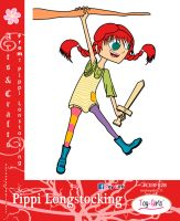 Toy Girls - As n Cts Series 28: Pippi Longstocking by mickeyelric11