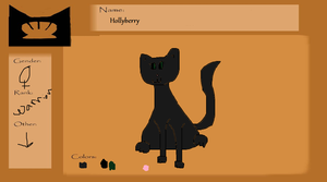 Hollyberry ref sheet by Tangle-Kitty