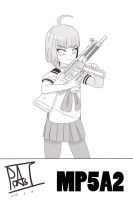 UPOTTE !! MP5A2 by x94u04tp6