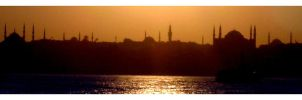istanbul sunset by thirteenx