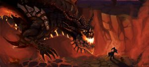 Rise of Deathwing by BPezzillo