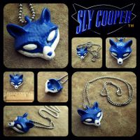 Sly Cooper Necklace by Artistry-Blade