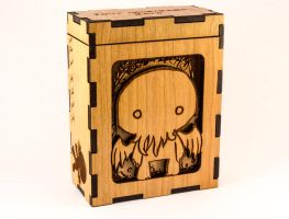 Chibi Cthulhu from H. P. Lovecraft's Mythos Box! by Sevvie