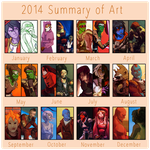 2014 in Review by EleganceLiberty