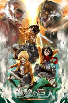 Attack on Titan - THE MOVIE?!?! by lucidsky