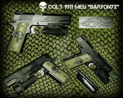 Colt 1911 Baryonyx Co2 by OniPunisher
