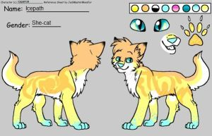 Icepath reference sheet by Icepath39