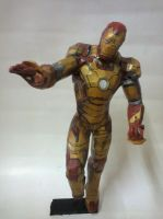 Iron Man Mark 42 Papercraft by erinasution