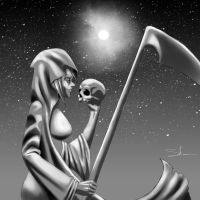 Lady Grim Reaper Death by Heartless199