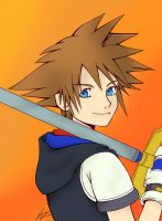 KH Sora Colored by Itachisgirl4ever