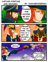Captain Fortune and Oranges by Choudenjizenou