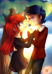 Dancing in the park {Love 100 themes} by LiliTheWeirdPrincess