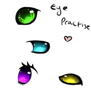 Eye Practice by Samooraii