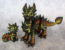 Magma Brothers - Auction by DragonsAndBeasties
