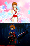 Deadly Beauty: Kasumi by 2ndCityCrusader