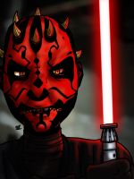 Darth Maul by theEyZmaster