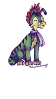 Ogrin Neopets Art Trade For 8bitzuzz by SnowWhitesAngel