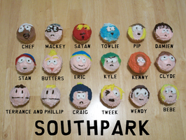 South Park Cupcakes by Tariraritarara-san
