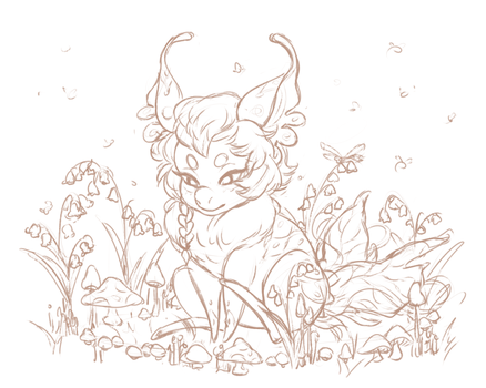Faerie Ring Sketch by RoughReaill