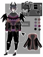 demon boy adoptable CLOSED by AS-Adoptables