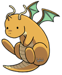 Dragonite by CatTreats