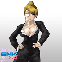 SNK GALS - Mature kof XIII by inketto