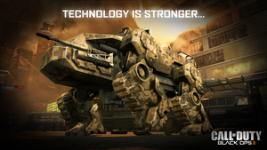 Black Ops II Wallpaper: Technology is Stronger... by theIntensePlayer