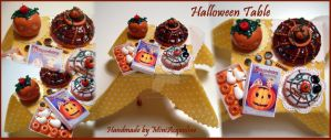 Halloween table n.2 by miniacquoline
