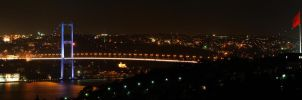 Bogazici Koprusu Panorama by thenoiseless