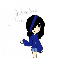 Adventure time me by Blazelover600