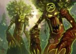 World of warcraft - Treants by Vaejoun